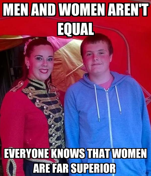 Women are superior to men