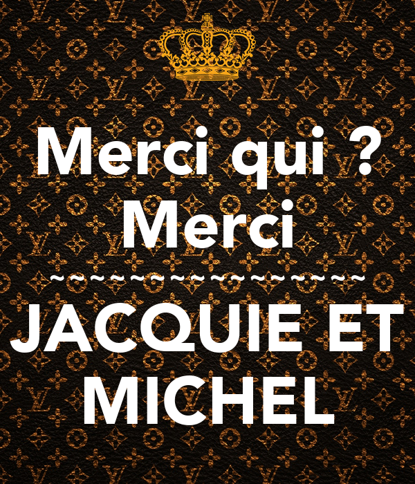 merci qui merci jacquie et michel poster rudy keep calm o matic