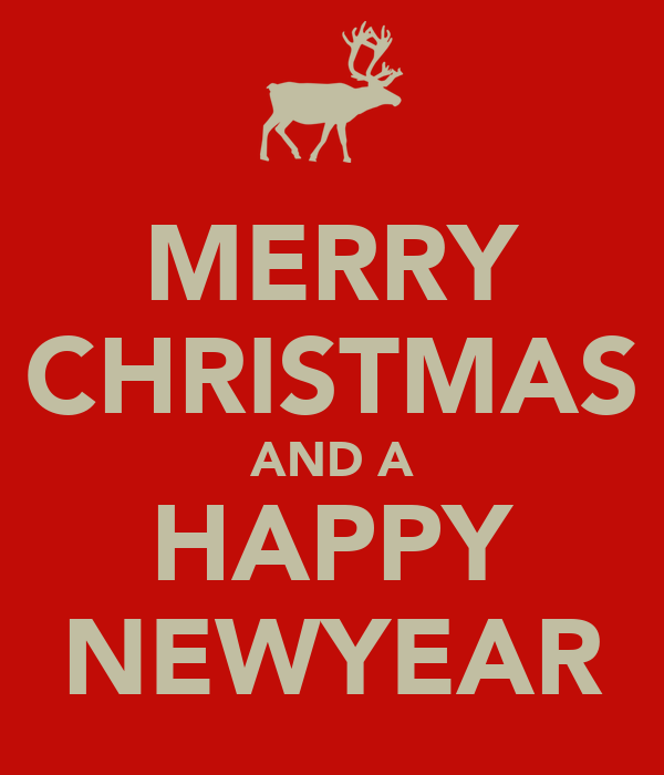 MERRY CHRISTMAS AND A HAPPY NEWYEAR