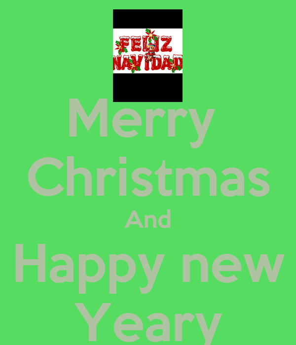 Merry  Christmas And Happy new Yeary