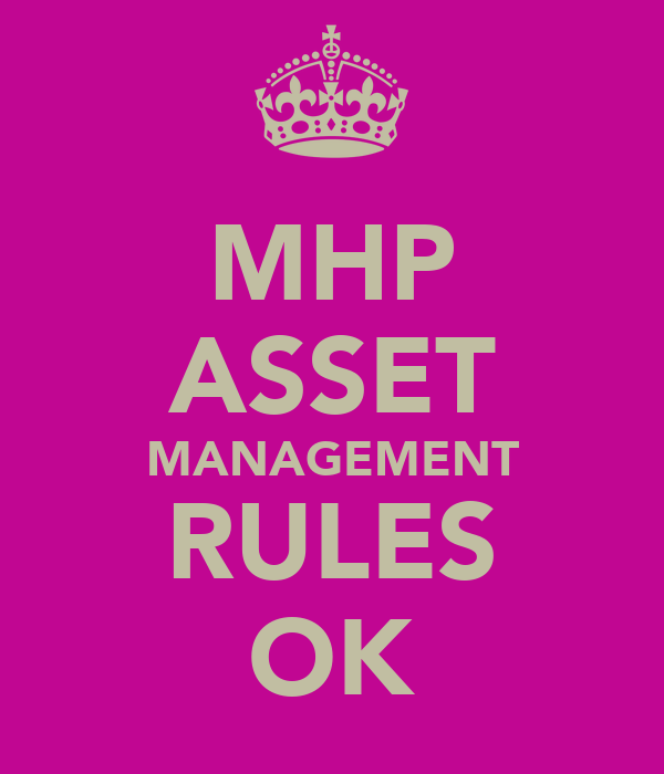 MHP ASSET MANAGEMENT RULES OK