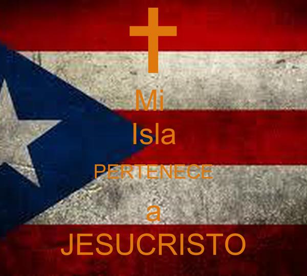 Mi  Isla PERTENECE a JESUCRISTO
