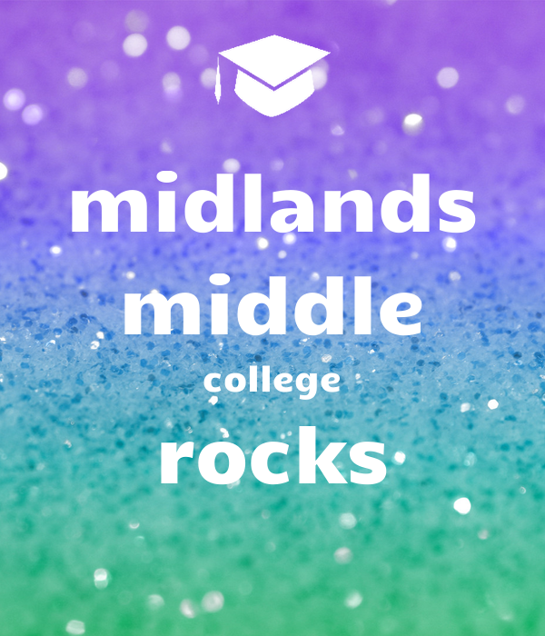 midlands middle college rocks