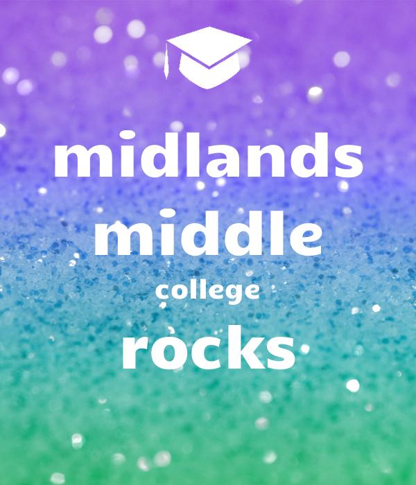 midlands middle college rocks