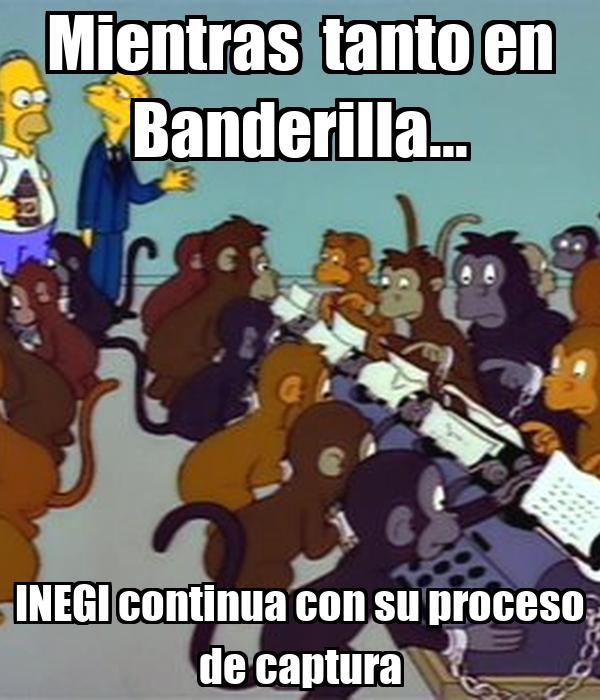 Mientras  tanto en Banderilla... INEGI continua con su proceso de captura