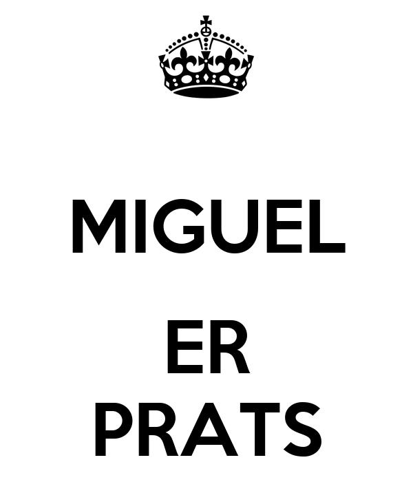 MIGUEL  ER PRATS
