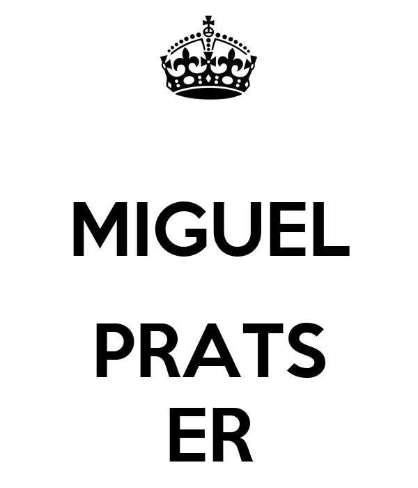 MIGUEL  PRATS ER