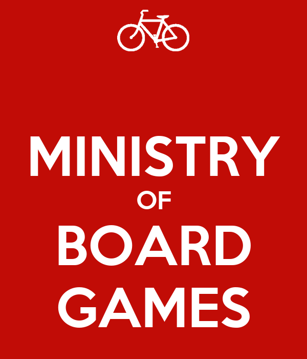 MINISTRY OF BOARD GAMES