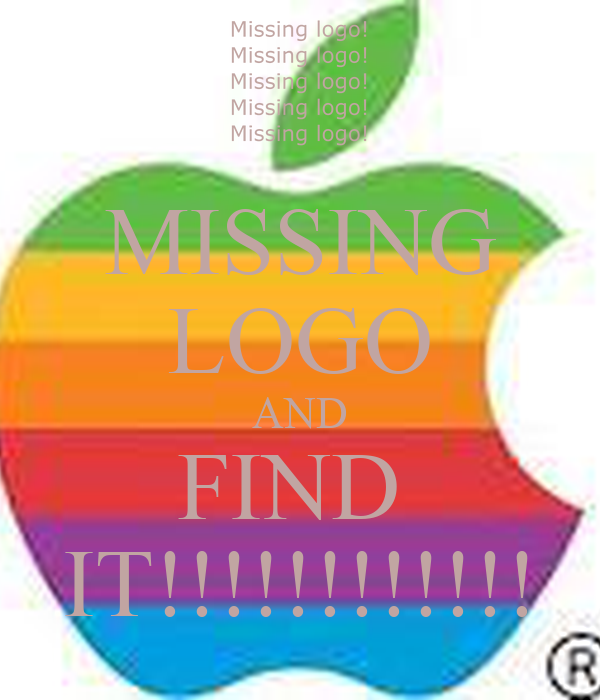MISSING LOGO AND FIND  IT!!!!!!!!!!!!