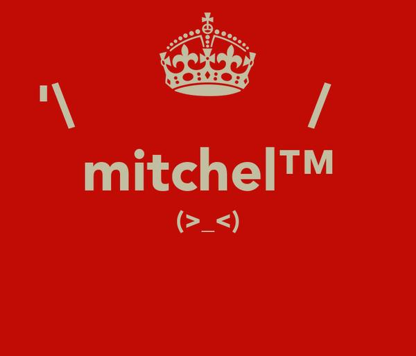 '\̽▴̲̊̽▴̲̊̽̽▴̲̊̽/̽ mitchel™ ┌П┐ (>_<) ┌П┐