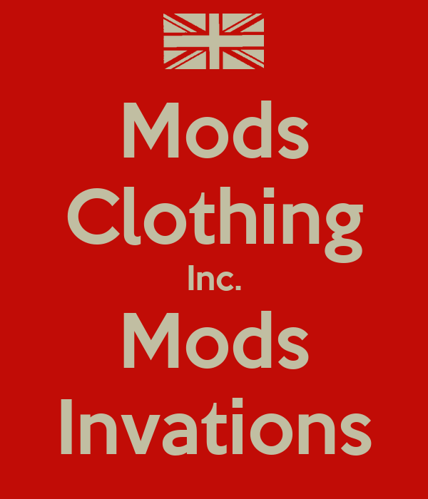 Mods Clothing Inc. Mods Invations
