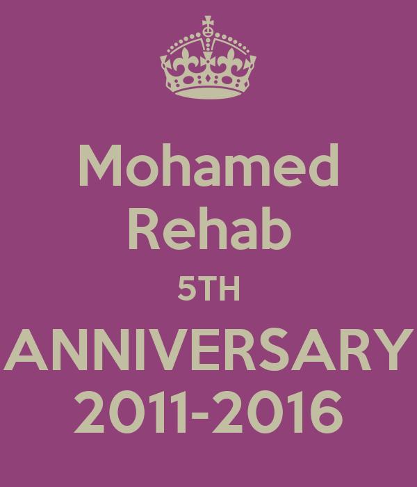 Mohamed Rehab 5TH ANNIVERSARY 2011-2016