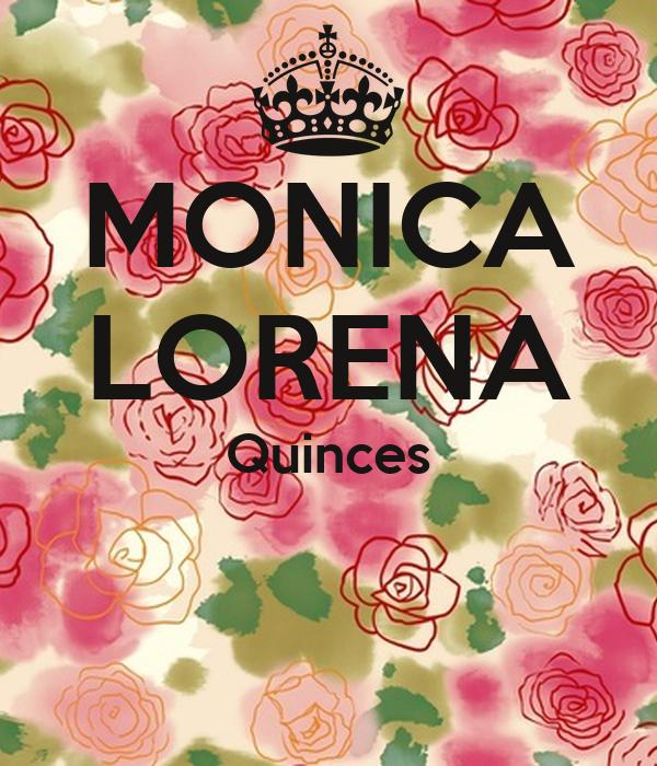 MONICA LORENA Quinces