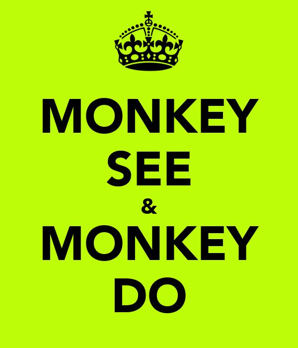 MONKEY SEE & MONKEY DO