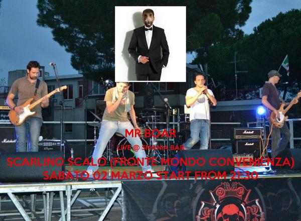 Mr boar live smania bar scarlino scalo fronte mondo for Mondo convenienza scarlino