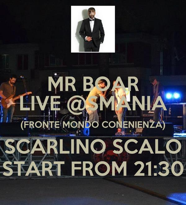Mr boar live smania fronte mondo conenienza scarlino for Mondo convenienza scarlino