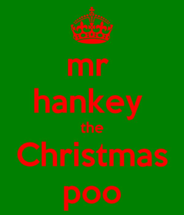 mr  hankey  the Christmas poo