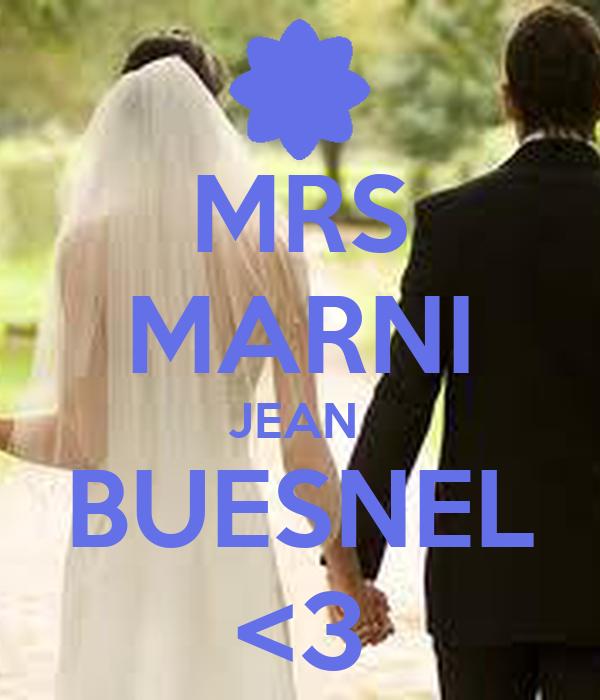 MRS MARNI JEAN  BUESNEL <3