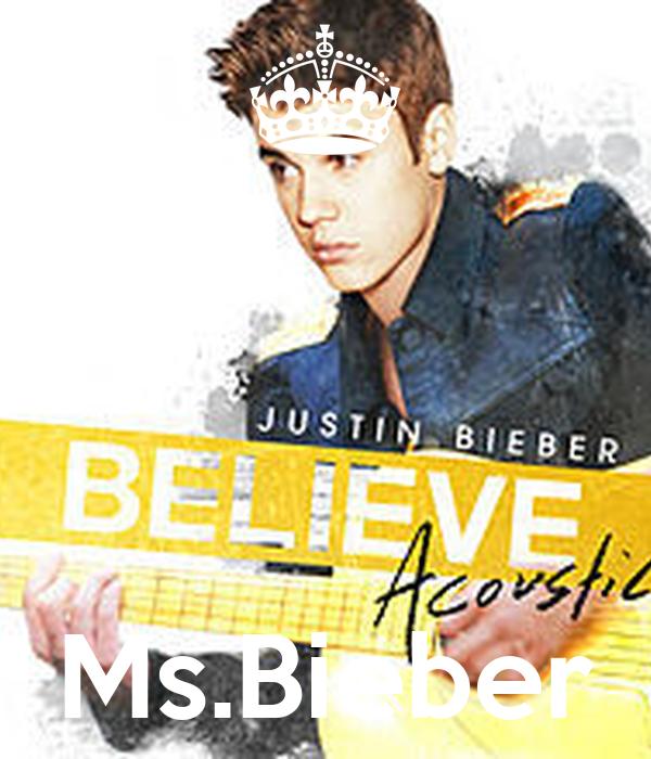 Ms.Bieber