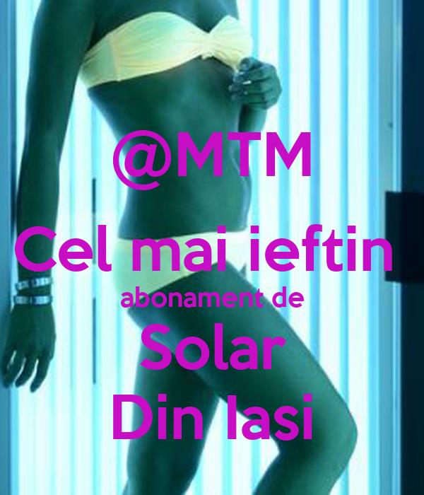 @MTM Cel mai ieftin  abonament de Solar Din Iasi