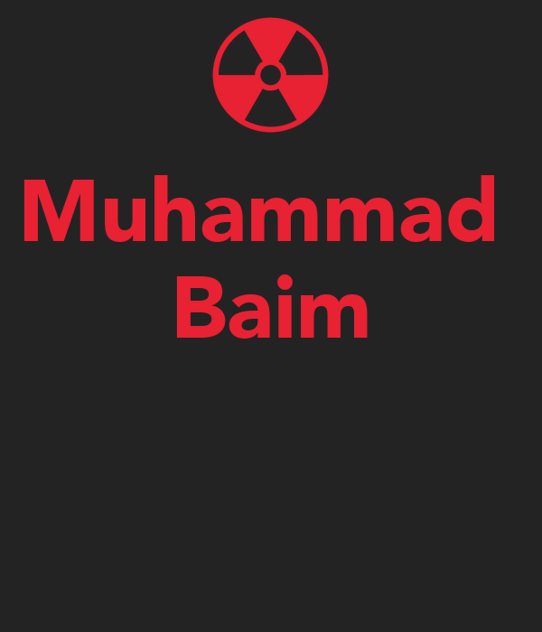 Muhammad  Baim