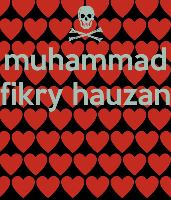 muhammad fikry hauzan