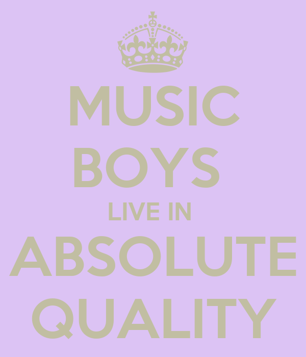 MUSIC BOYS  LIVE IN  ABSOLUTE QUALITY