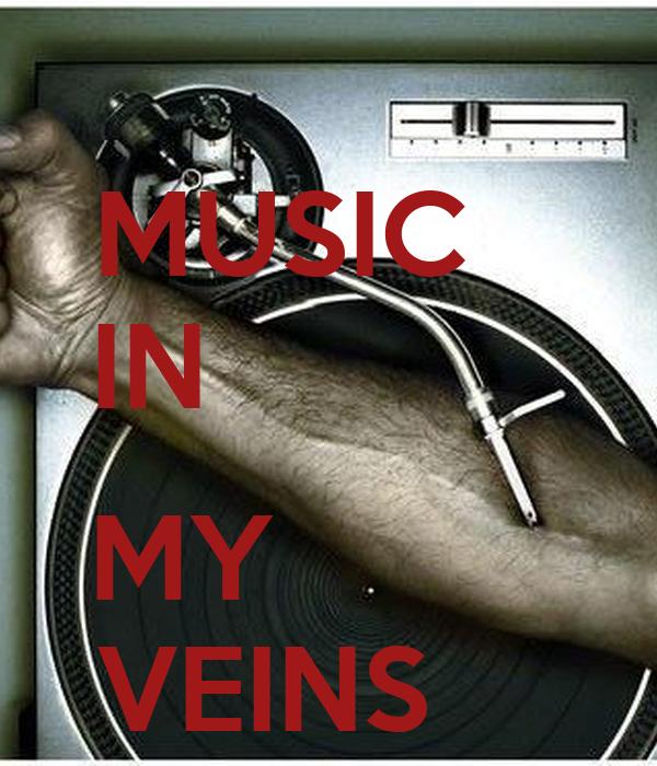 MUSIC    IN             MY          VEINS
