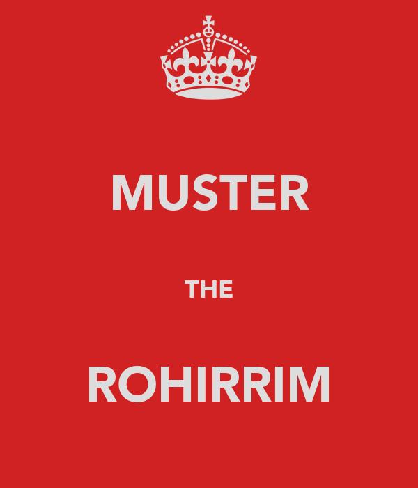 MUSTER  THE  ROHIRRIM