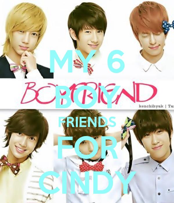 MY 6 BOY FRIENDS FOR CINDY
