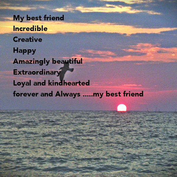 Beautiful And Extra Ordinary Picture: My Best Friend Incredible Creative Happy Amazingly