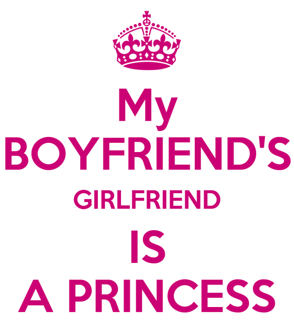 My BOYFRIEND'S GIRLFRIEND IS A PRINCESS