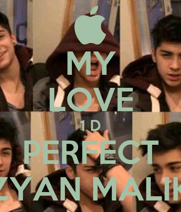 MY LOVE 1 D PERFECT ZYAN MALIK