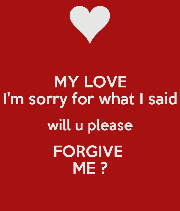 i am sorry my love wallpapers - photo #42