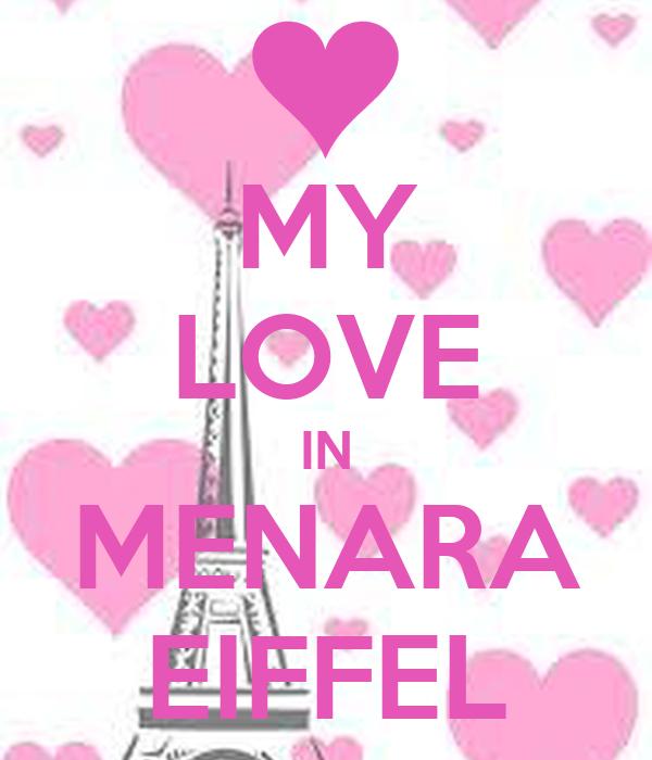 MY LOVE IN MENARA EIFFEL