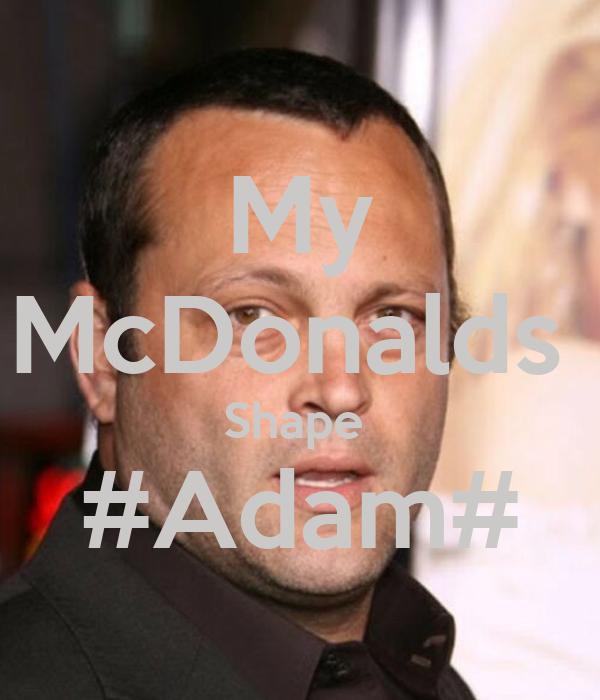 My McDonalds  Shape  #Adam#