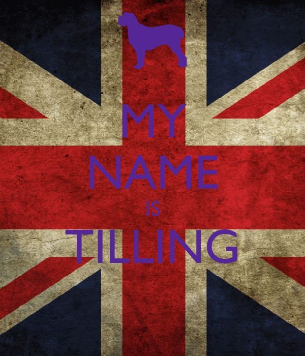 MY NAME IS TILLING