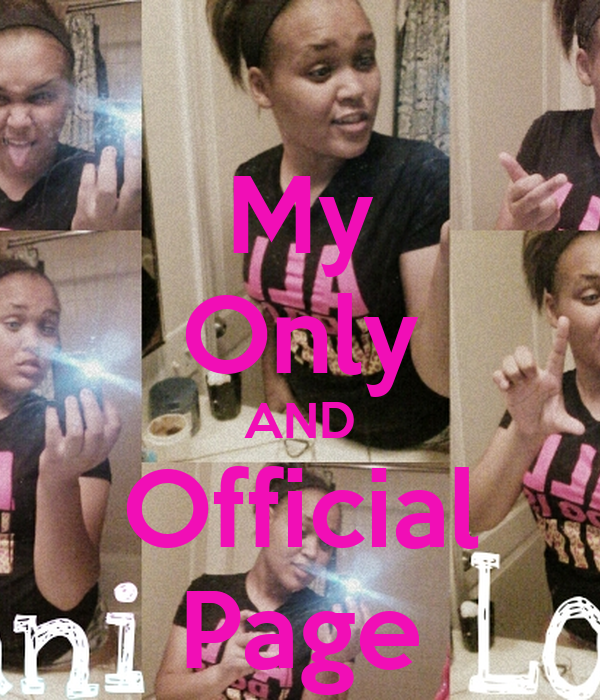 My Only AND Official Page