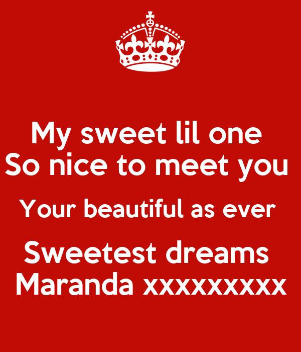 So Nice To Meet You Lyrics