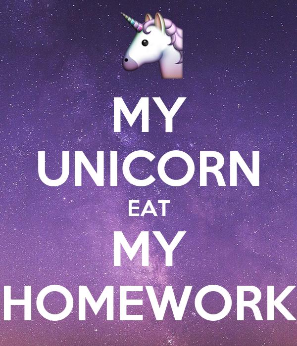 My homework