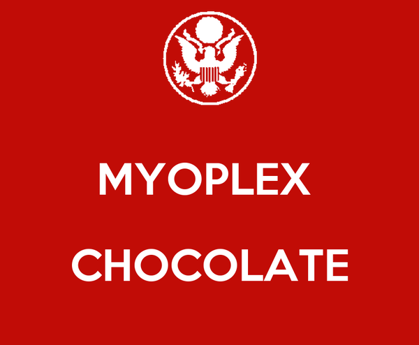 MYOPLEX   CHOCOLATE