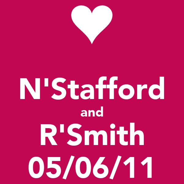N'Stafford and R'Smith 05/06/11