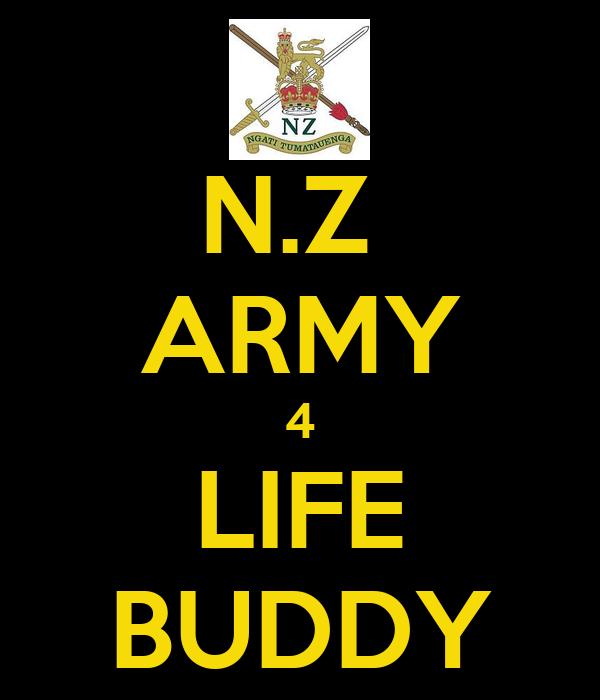 N.Z  ARMY 4 LIFE BUDDY