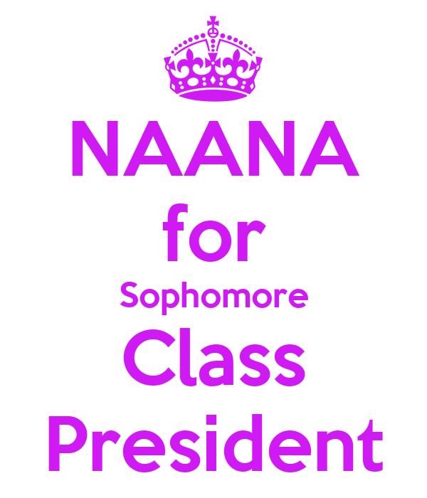 NAANA for Sophomore Class President