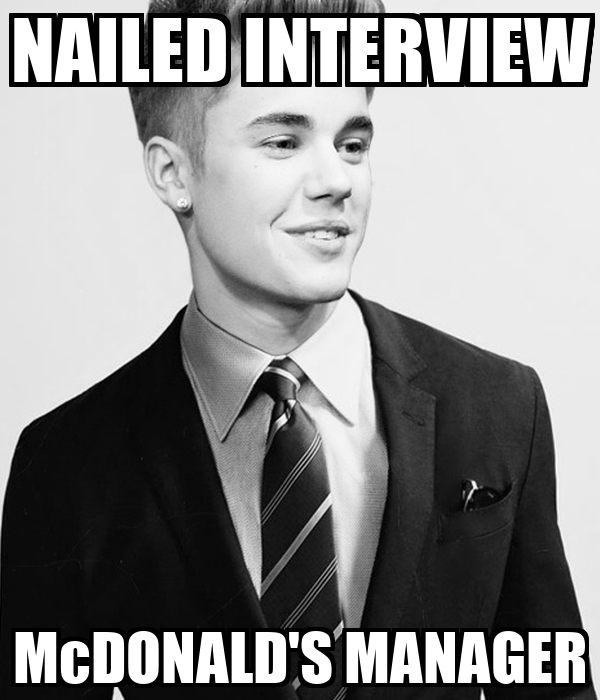 NAILED INTERVIEW McDONALD'S MANAGER