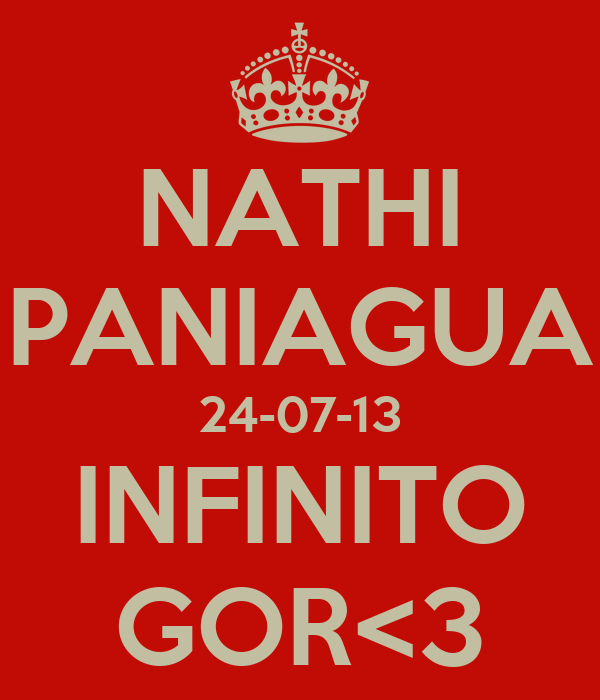 NATHI PANIAGUA 24-07-13 INFINITO GOR<3