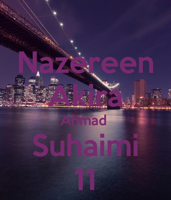 Nazereen Akira Ahmad  Suhaimi 11