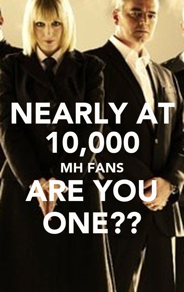 NEARLY AT 10,000 MH FANS ARE YOU ONE??