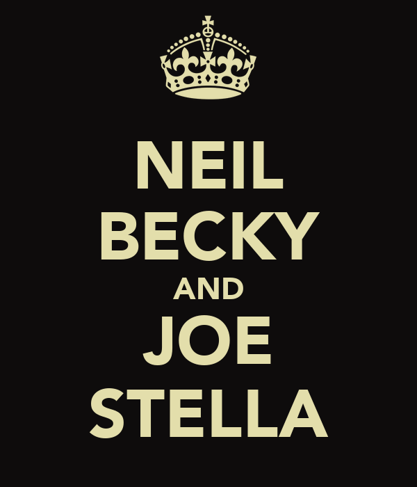 NEIL BECKY AND JOE STELLA