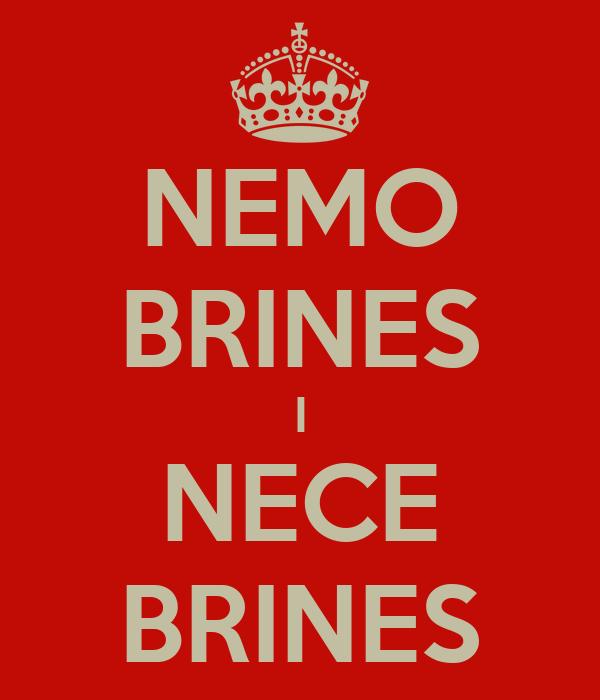NEMO BRINES I NECE BRINES